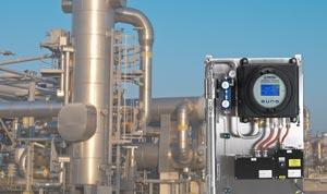Michell Feuchte in Erdgas Analysator