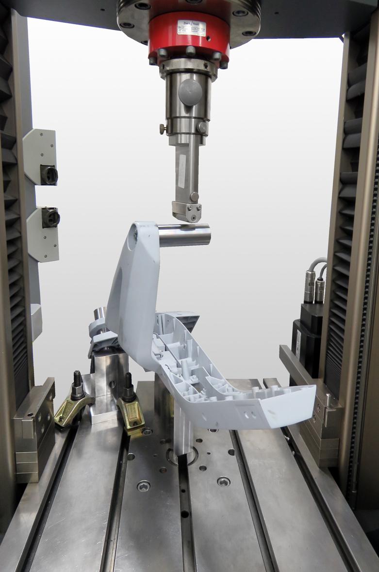 ZwickRoell Prüfungen faltbarer E-Roller