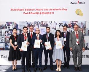 Science Award ZwickRoell 2018